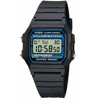 F-105W-1A Casio Collection Uni-Sex digital ur